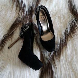 Syrup black high heels
